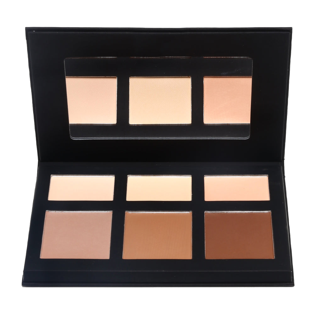 Fleeky Highlight and Contour Palette - PRELLA Cosmetics