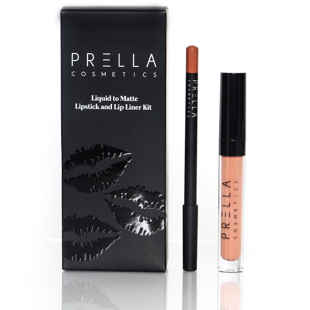 RITZY Liquid to Matte Lipstick Kit - PRELLA Cosmetics