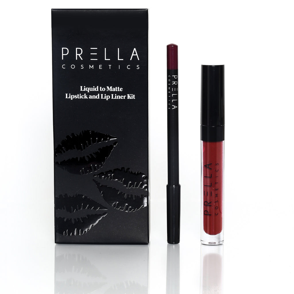VIXEN Liquid to Matte Lipstick Kit - PRELLA Cosmetics