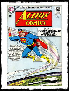 "ACTION COMICS - #314 ""THE DAY SUPERMAN BECAME FLASH"" (1964 - VF)"