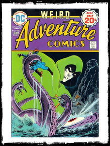 ADVENTURE COMICS - #436 CLASSIC JIM APARO SPECTRE BOOK (1974 - FN/VF)