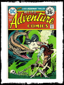 ADVENTURE COMICS - #437 CLASSIC JIM APARO SPECTRE BOOK (1974 - VF+)