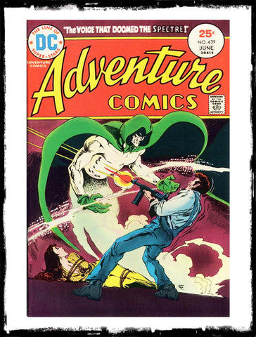 ADVENTURE COMICS - #439 CLASSIC JIM APARO SPECTRE BOOK (1974 - VF+)