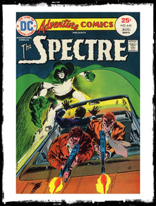 ADVENTURE COMICS - #440 CLASSIC JIM APARO SPECTRE BOOK (1974 - VF)
