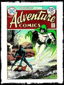 ADVENTURE COMICS - #432 CLASSIC JIM APARO SPECTRE BOOK (1974 - VF)
