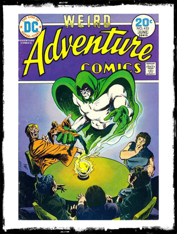 ADVENTURE COMICS - #433 CLASSIC JIM APARO SPECTRE BOOK (1974 - VF)