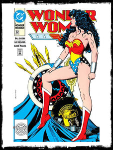 "WONDER WOMAN - #72 ""THE SONG OF CREATION"" / BRIAN BOLLAND COVER (1993 - VF+/NM)"