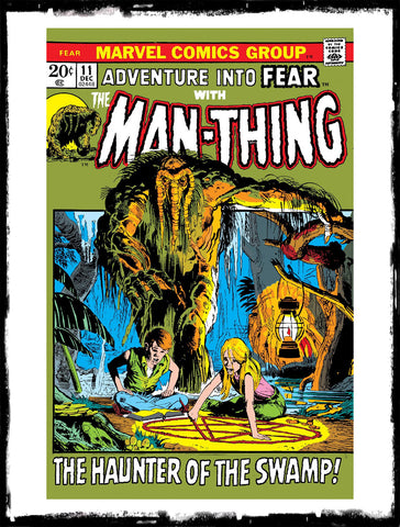 "ADVENTURE INTO FEAR - #11 ""NIGHT OF THE NETHER-SPAWN"" (1972 - VF)"
