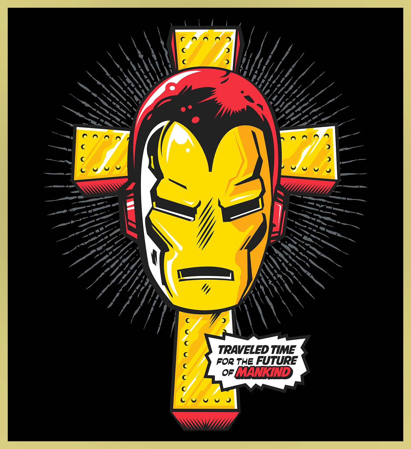 IRON MAN SABBATH - ENDGAME TURBO TEE!
