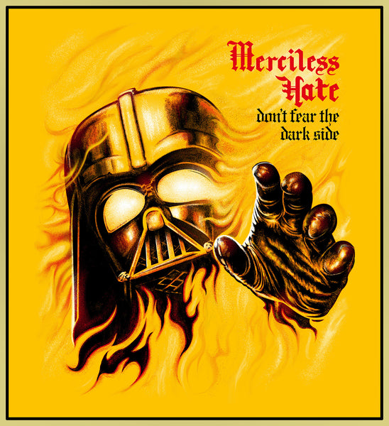 MERCILESS HATE - DARTH VADER TURBO TEE! (LIMITED EDITION)