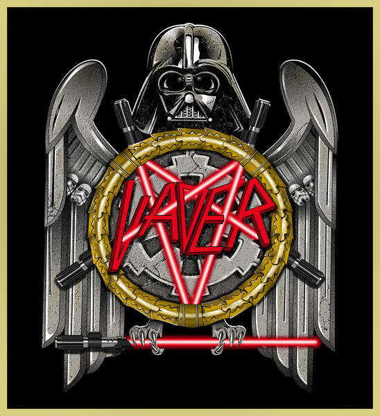 VADER OF DEATH - HEAVY METAL TURBO TEE!