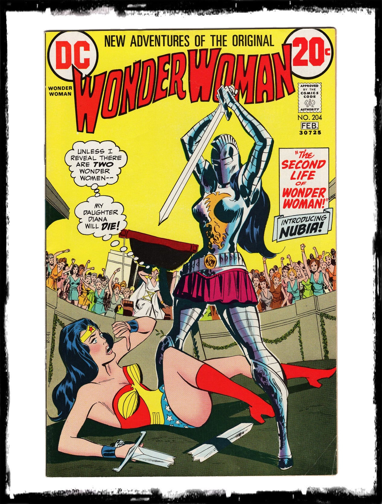 WONDER WOMAN - #204 1ST APP OF NUBIA (1973 - FN/VF)