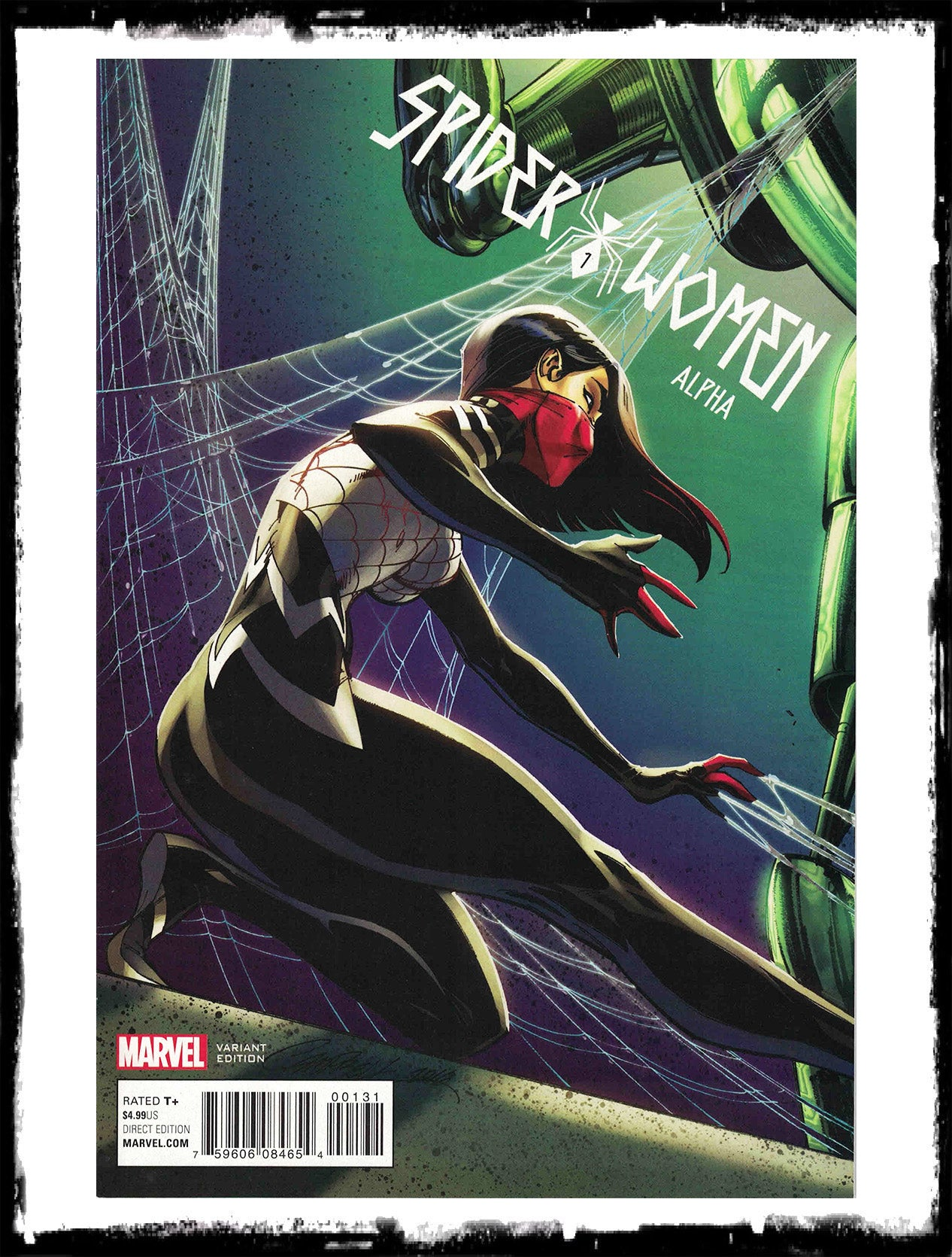 SPIDER-WOMEN: ALPHA - #1 J. SCOTT CAMPBELL VARIANT (2016 - NM)