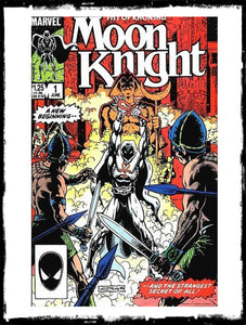 MOON KNIGHT - #1 1ST APP OF MOON KNIGHT'S NEW COSTUME (1985 - VF+/NM-)