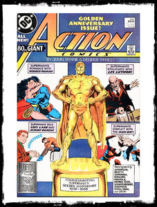 ACTION COMICS - #600 CLASSIC JOHN BYRNE & GEORGE PEREZ (1988 - NM)