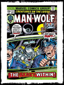 CREATURES ON THE LOOSE: FEAT MAN-WOLF - #31 (1974 - FN/FN+)