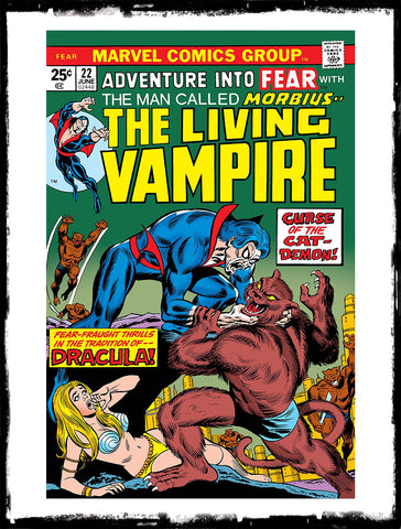 ADVENTURE INTO FEAR - #22 (1974 - FN/VF)