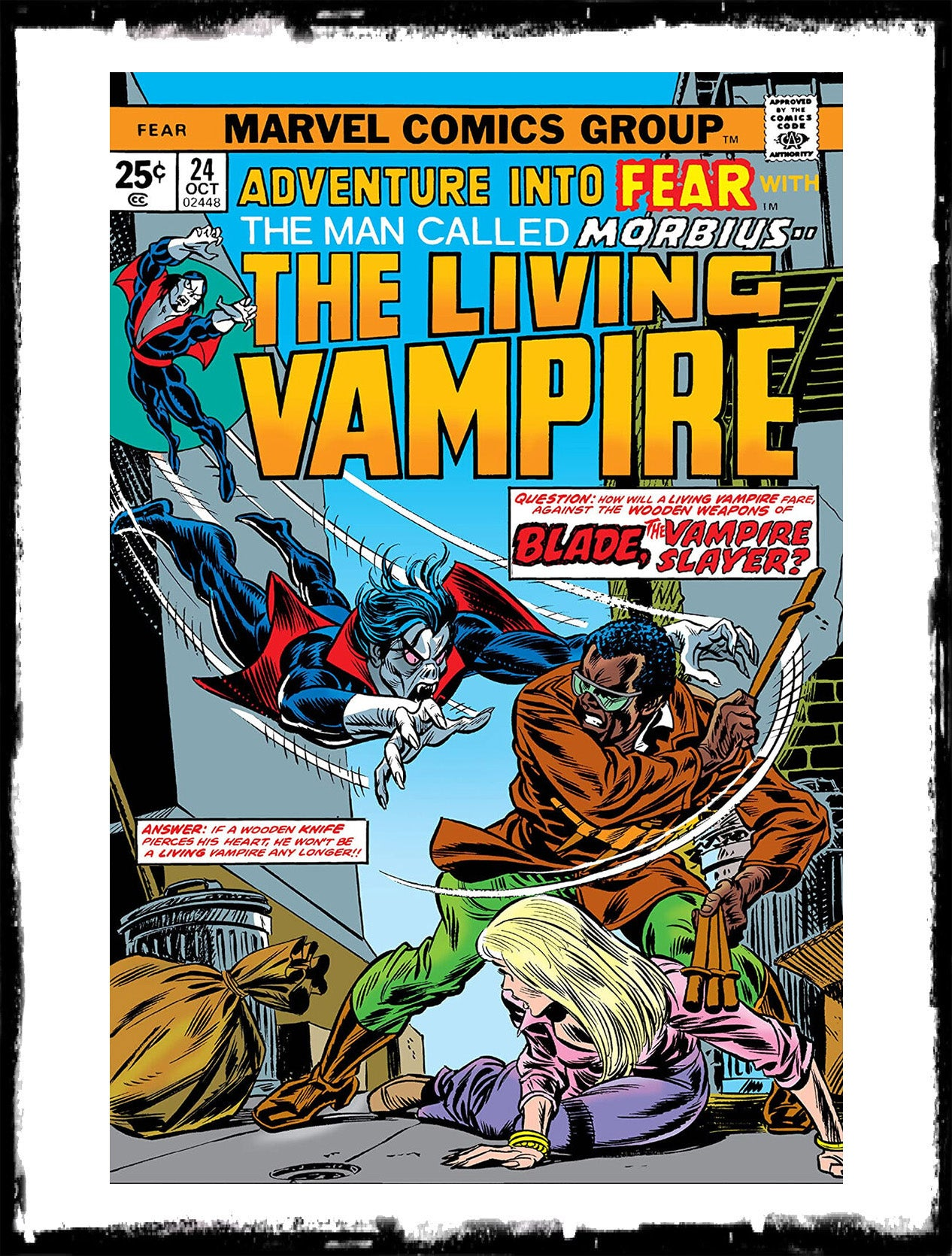 ADVENTURE INTO FEAR - #24 (1974 - FN/VF)