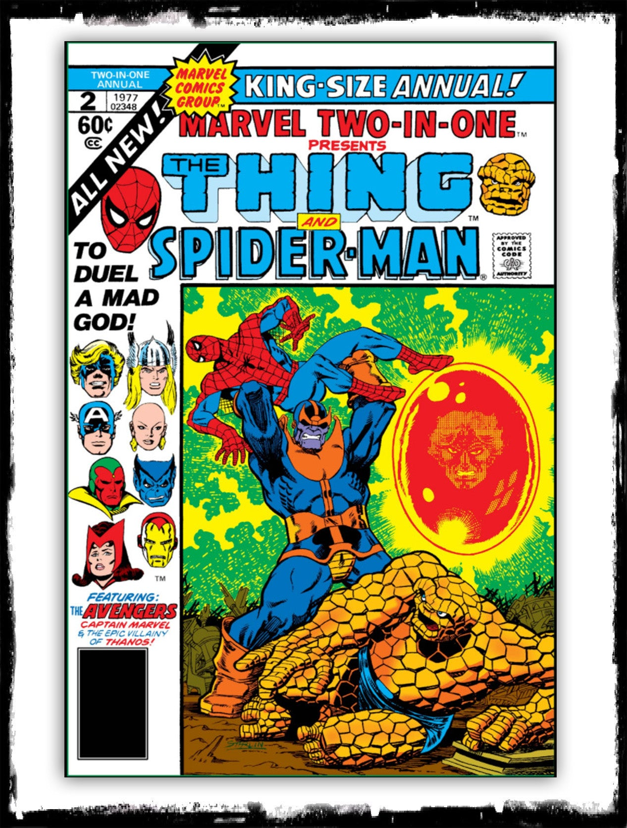 MARVEL TWO-IN-ONE: ANNUAL - #2 (1977 - FN/VF)
