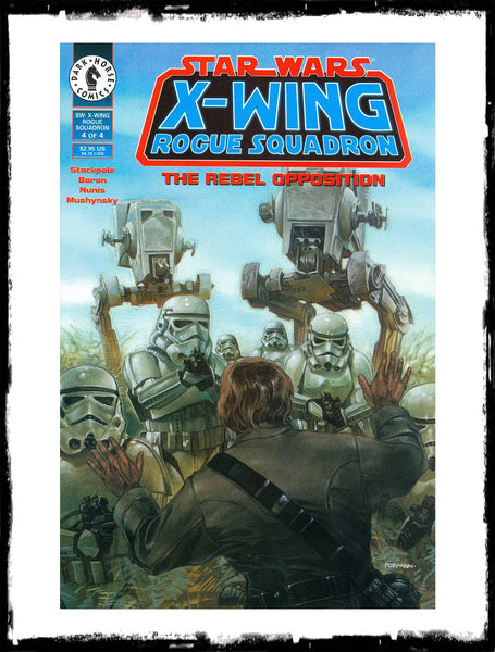 STAR WARS: X-WING ROGUE SQUADRON - #1 - 4 COMPLETE SET - THE REBEL OPPOSITION (1995 - NM)