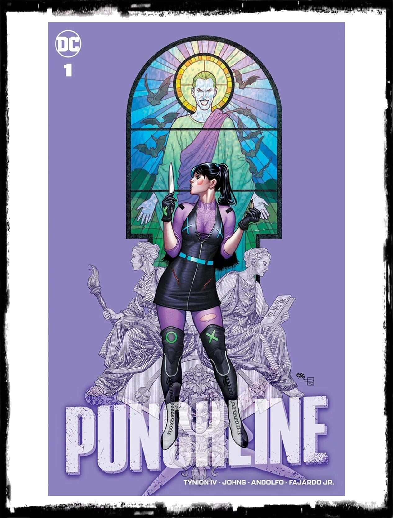 PUNCHLINE: SPECIAL - #1 FRANK CHO EXCLUSIVE VARIANT - LTD TO 3000 (2020 - NM)