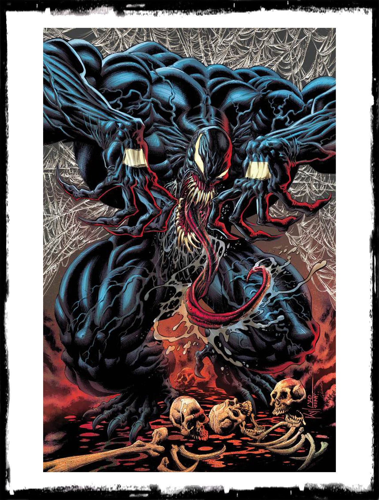 VENOM - #31 KYLE HOTZ VIRGIN VARIANT EXCLUSIVE - LTD TO 1000 (2020 - NM)