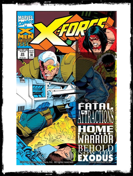 X-MEN / X-FACTOR /  X-FORCE / EXCALIBUR / WOLVERINE - FATAL ATTRACTIONS COMPLETE SET W/ HOLOGRAM COVERS (1993 - NM)