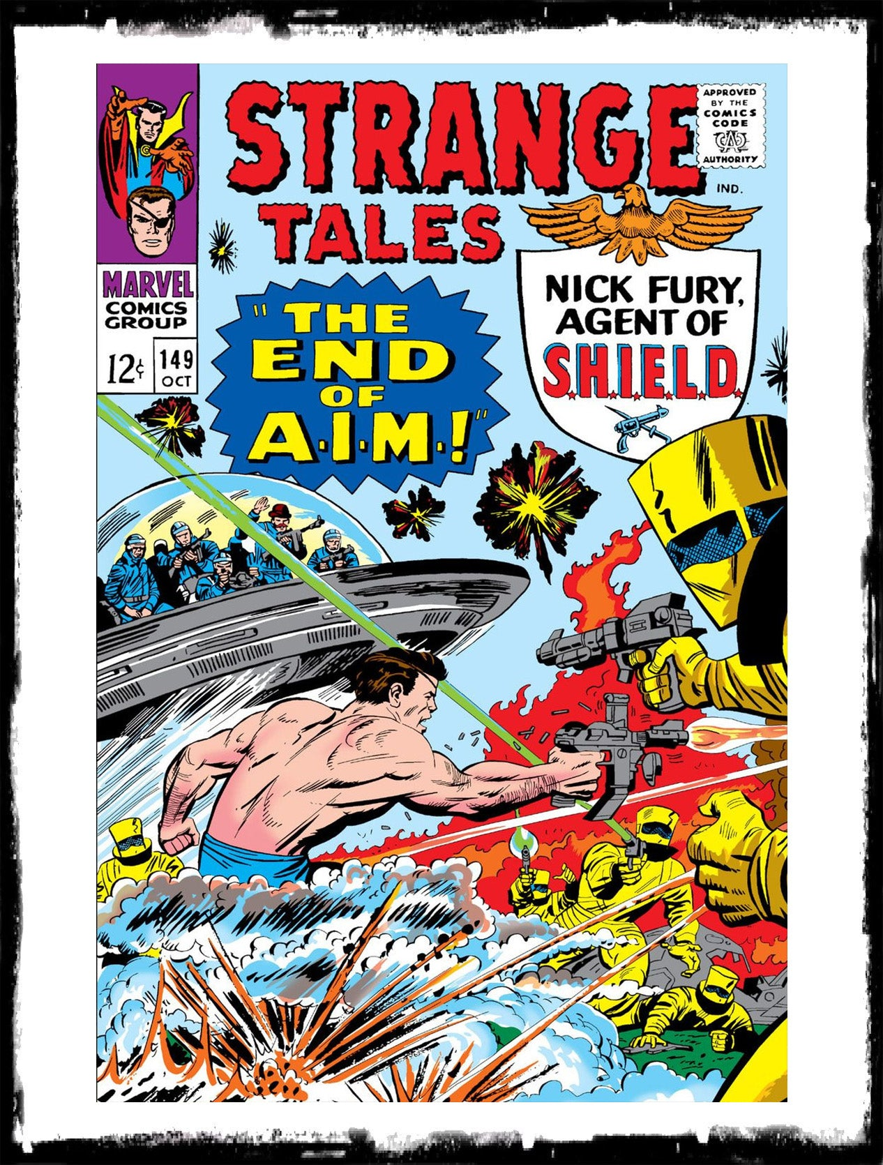 "STRANGE TALES - #149 ""THE END OF A.I.M."" (1966 - VG/FN)"