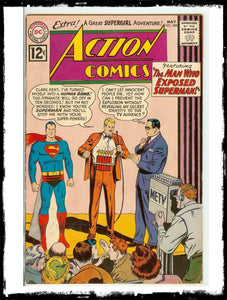 "ACTION COMICS - #288 ""THE MAN WHO EXPOSED SUPERMAN"" (1962 - VF-/VF)"