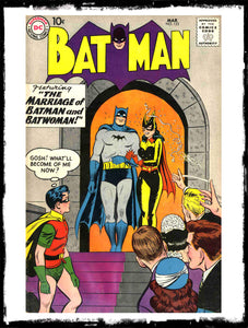 "BATMAN - #122 ""PRISONERS OF THE SARGASSO SEA"" (G - 1959)"