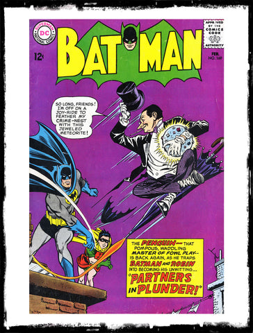 BATMAN - #169 2ND SILVER AGE APP OF THE PENGUIN (1965 - VG/FN)