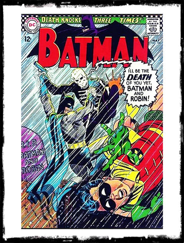 "BATMAN - #180 ""DEATH KNOCKS THREE TIMES!"" (1966 - FN-/FN)"