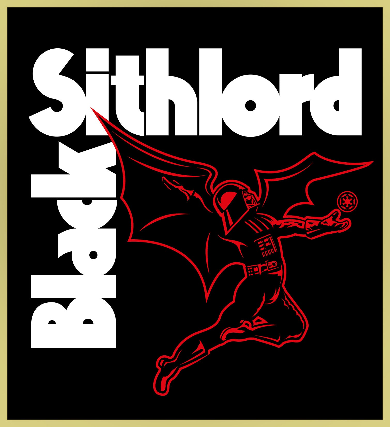 SITHLORD - BLACK SABBATH /  HEAVY METAL TURBO TEE!