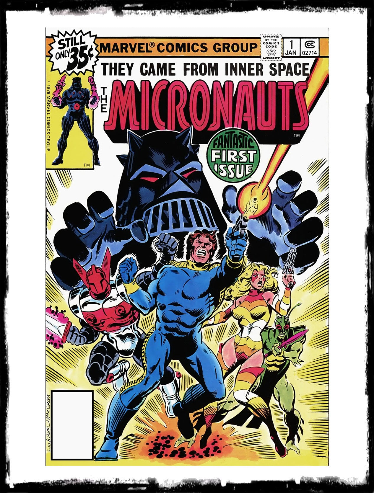 MICRONAUTS - #1 CLASSIC ISSUE! (1978 - VF+/NM)