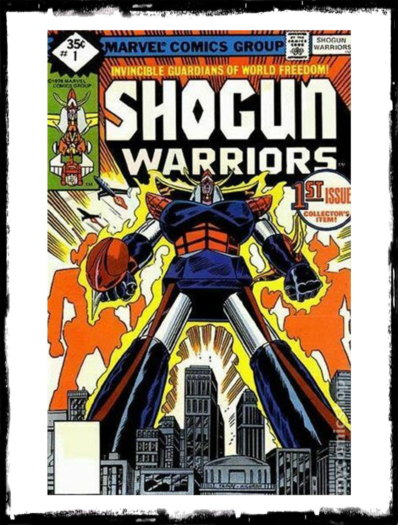 SHOGUN WARRIORS - #1 1ST APP OF ALL CHARACERS (1979 - VF-/VF)