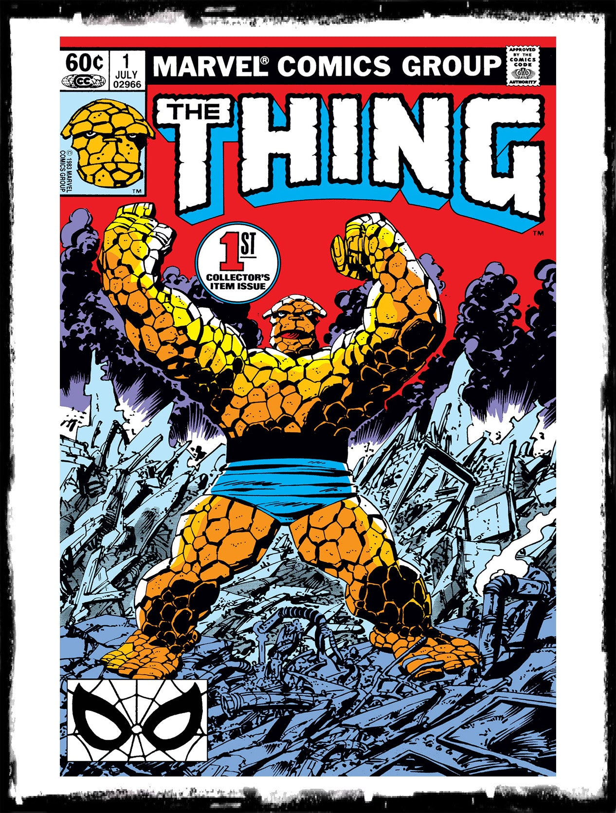 THING - #1 ORIGIN OF THE THING (BEN GRIMM) (1983 - VF+/NM)