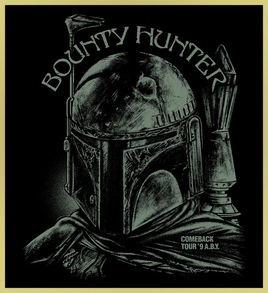 BOUNTY HUNTER - BLACK SABBATH HEAVY METAL TURBO TEE!