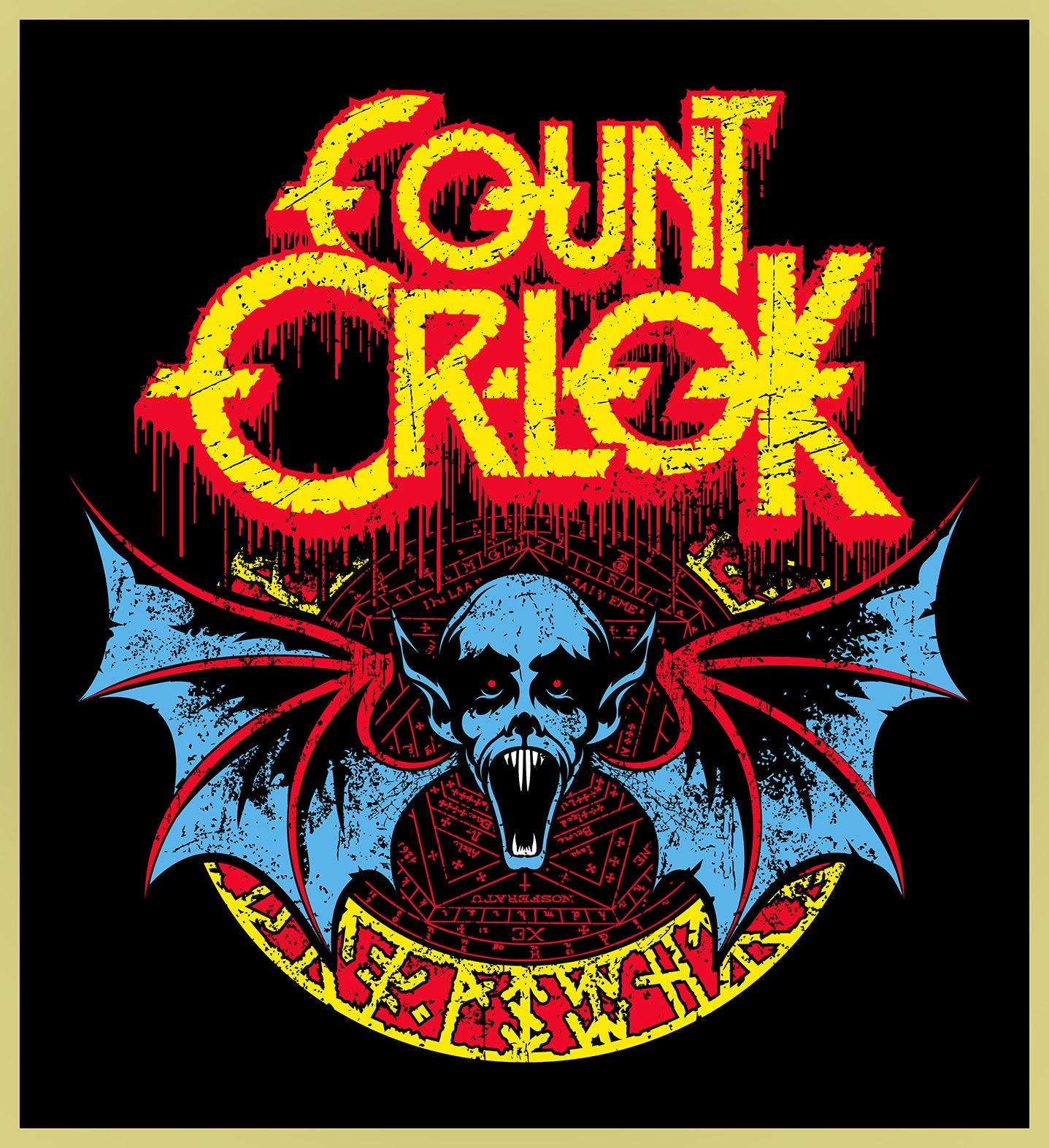 COUNT ORLOK - OZZY OSBOURNE HEAVY METAL TURBO TEE!