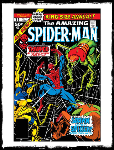 AMAZING SPIDER-MAN: ANNUAL - #11 1ST APP OF SPIDER-SQUAD (1977 - VF)