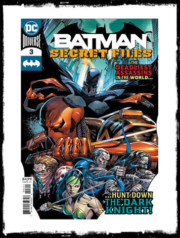 BATMAN: SECRET FILES - #3 PUNCHLINE LEAD-IN (2020 - NM)