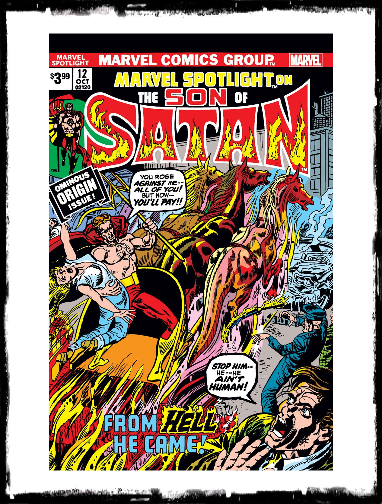 MARVEL SPOTLIGHT: SON OF SATAN - #12 FACSIMILE EDITION (2019 - NM)