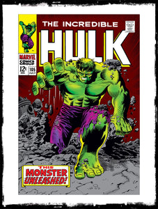 INCREDIBLE HULK - #105 1ST APP OF THE MISSING LINK (1968 - VF)