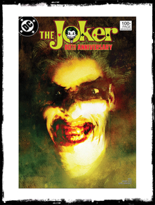 JOKER: 80TH ANNIVERSARY - 1980's BILL SIENKIEWICZ VARIANT (2020 - NM)