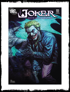 JOKER: 80TH ANNIVERSARY - 2000's LEE BERMEJO VARIANT (2020 - NM)