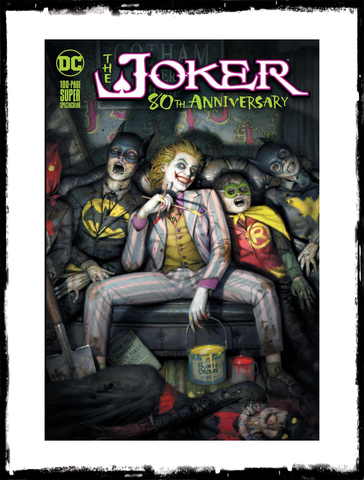 JOKER: 80TH ANNIVERSARY - RYAN BROWN VARIANT LIMITED TO 2500 (2020 - NM)