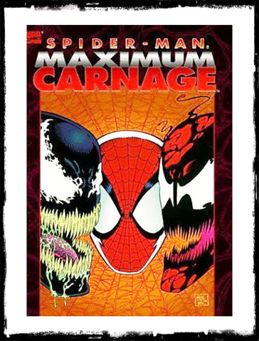 SPIDER-MAN: MAXIMUM CARNAGE - GRAPHIC NOVEL - 1ST PRINT (1994 - USED/VF+)