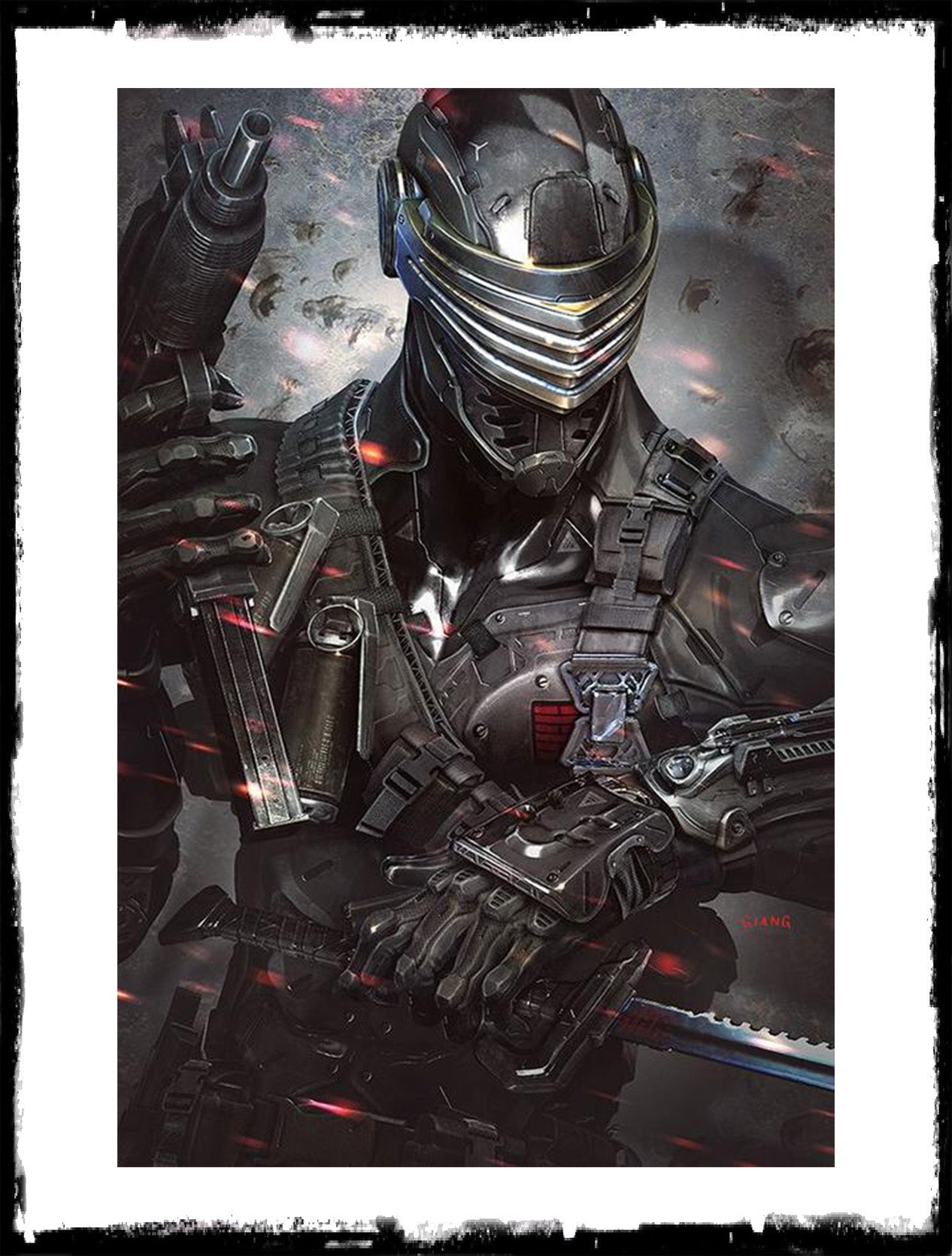G.I. JOE - SNAKE-EYES DEADGAME - #1 JOHN GIANG VIRGIN VARIANT - LTD TO 1000 (2020 - NM)