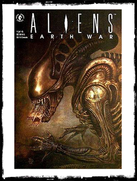 ALIENS: EARTH WAR - #1 - 4 COMPLETE SET (1990 - NM)