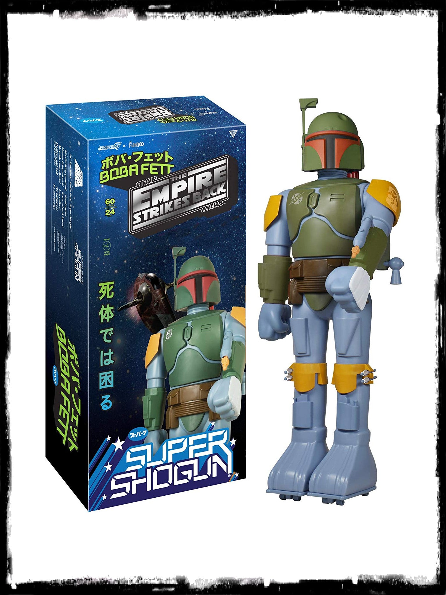 FUNKO SUPER SHOGUN BOBA FETT – EMPIRE STRIKES BACK 24-INCH ACTION FIGURE!