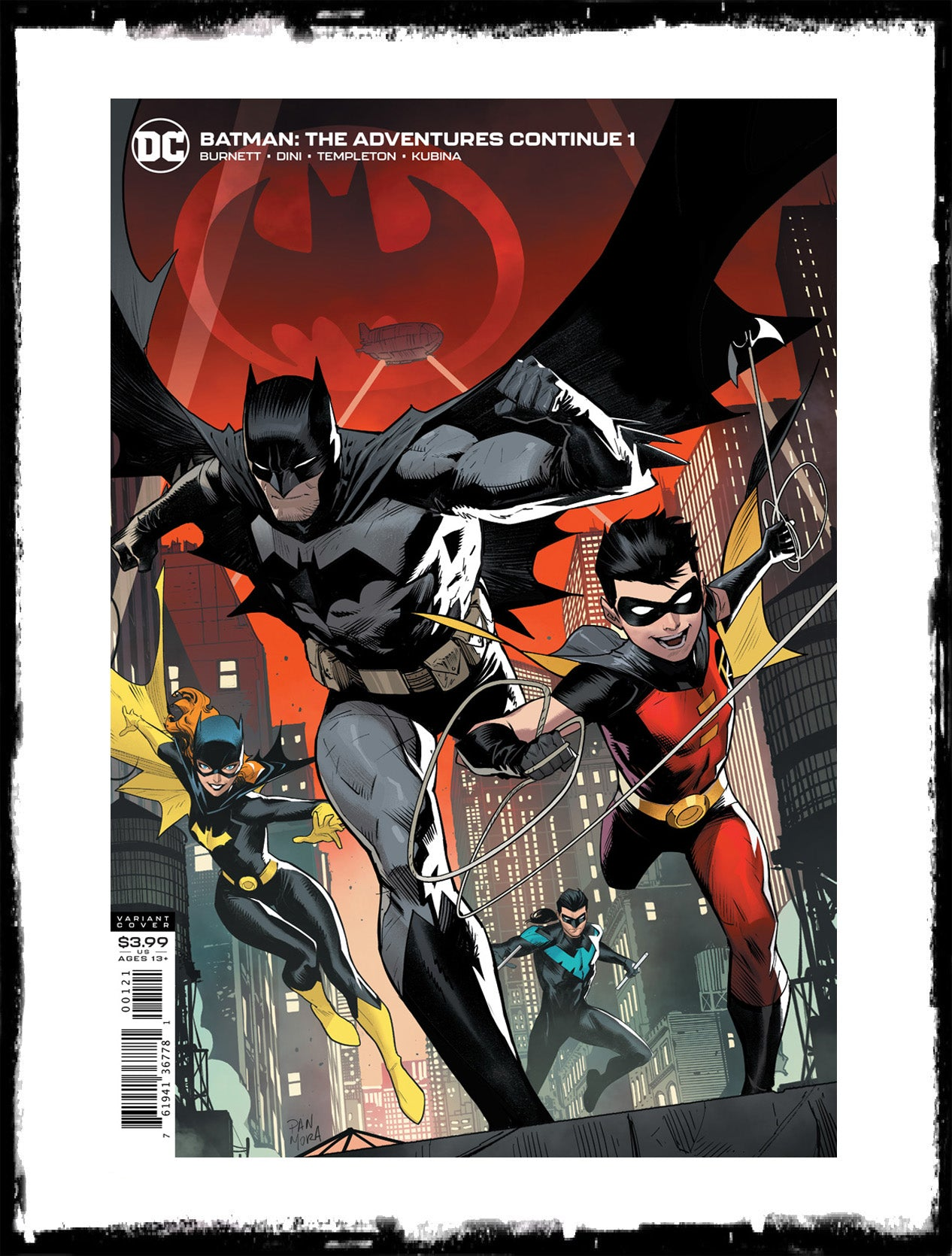 BATMAN: THE ADVENTURES CONTINUE - #1 DAN MORA COVER (2020 - NM)